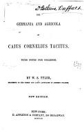 The Germania and Agricola of Caius Cornelius Tacitus PDF