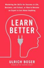 Learn Better PDF