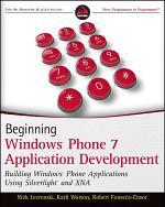 Beginning Windows Phone 7 Application Development