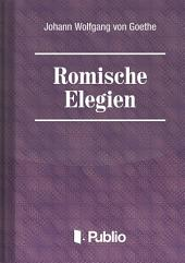 Roemische Elegien