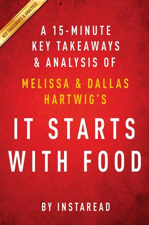 It Starts With Food  by Melissa and Dallas Hartwig   A 15 minute Key Takeaways   Analysis PDF