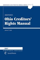 Anderson's Ohio Creditor's Rights Manual