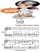 Iola - Beginner Tots Piano Sheet Music
