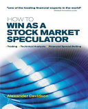 How to Win as a Stock Market Speculator