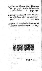 (Sermones selecti clarissimorum oratorum editi.)