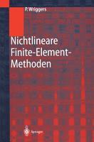 Nichtlineare Finite Element Methoden PDF