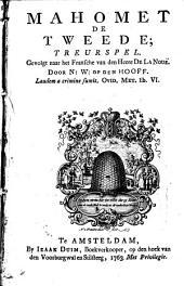 Mahomet de Tweede: treurspel, Volume 1