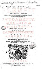 Fundamentorum Medicinae V. F. Plempii