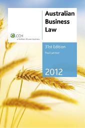 Australian Business Law 2012
