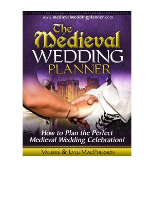 The Medieval Wedding Planner