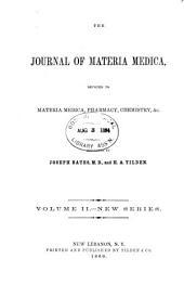 Journal of Materia Medica: Volume 2