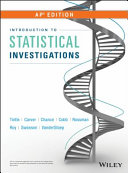 Introduction to Statistical Investigations PDF