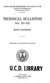 Technical Bulletin: Issues 351-375
