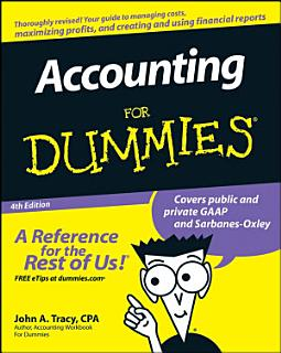 Accounting For Dummies Book