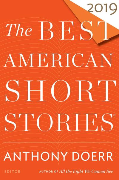 Download The Best American Short Stories 2019 Book