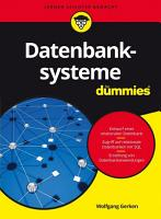 Datenbanksysteme f  1   4r Dummies PDF
