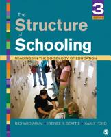 The Structure of Schooling PDF