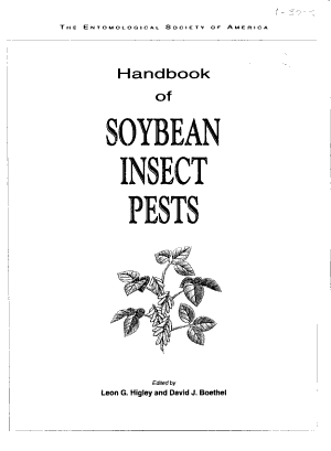 Handbook of Soybean Insect Pests