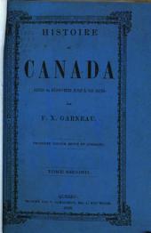 Histoire du Canada depuis sa découverte jusqu'à nos jours: Volume 2