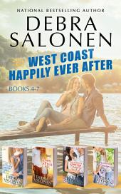 West Coast Happily-Ever-After Series: Books 4-7 (A Baby After All, Love After All, That Cowboy's Forever Family, and Forever and Ever, By George): Books 4-7
