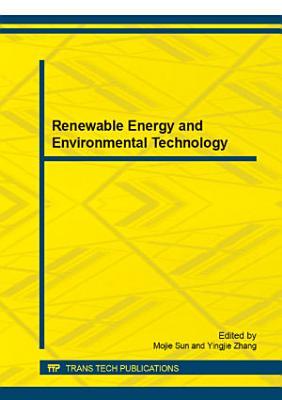 Renewable Energy and Environmental Technology PDF