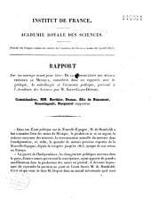 Rapport sur un ouvrage ayant pour titre: métaux précieux du Mexique (Géologie, Métallurgie, Economie politique)