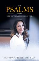 The Psalms of the First Covenant People of God PDF