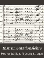 Instrumentationslehre: Band 1