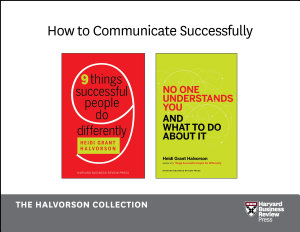How to Communicate Successfully  The Halvorson Collection  2 Books