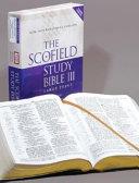 The Scofield Study Bible Iii