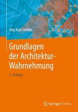 Grundlagen der Architektur Wahrnehmung PDF
