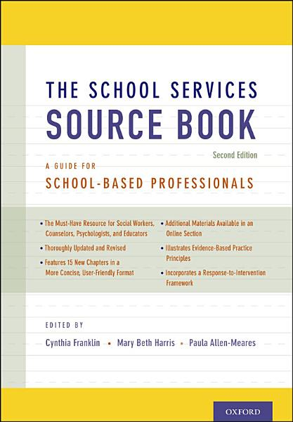 The School Services Sourcebook, Second Edition