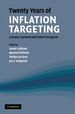 Twenty Years of Inflation Targeting PDF