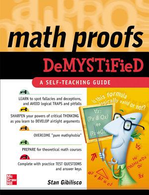 Math Proofs Demystified PDF