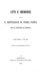 Atti e memorie