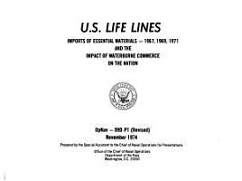U S  Life Lines PDF