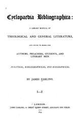 Cyclopaedia Bibliographica