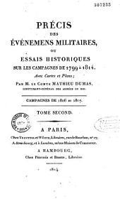 Précis des événements militaires ou essais historiques sur les campagnes de 1799 à 1814