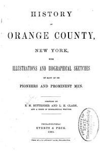 History of Orange County  New York PDF