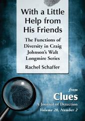 With a Little Help from His Friends: The Functions of Diversity in Craig Johnson's Walt Longmire Series