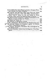 Mémorial de Sainte-Hélène: Journal de la vie privée et des conversations de l'empereur Napoléon à Sainte Hélène, Volume7