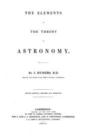 The Elements of the Theory of Astronomy