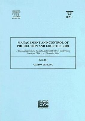 Management and Control of Production and Logistics 2004  MCPL 2004  PDF