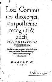 Loci communes theologici
