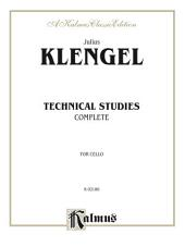 Technical Studies (Complete): For Cello