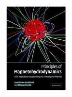 Principles of Magnetohydrodynamics PDF