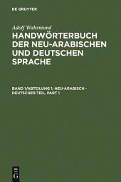 Neu-arabisch - deutscher Teil: Ausgabe 3