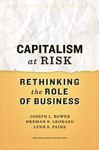 Capitalism at Risk Book