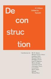 Deconstruction: A Critique