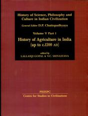 History of Agriculture in India  Up to C  1200 A D  PDF